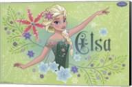 Frozen Fever - Elsa Wall Poster