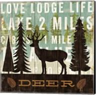Simple Living Deer Fine-Art Print
