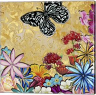 Whimsical Floral Collage 4-2 Fine-Art Print