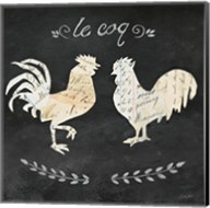 Le Coq Cameo Sq Fine-Art Print