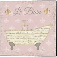 Vintage Bath VI Fleur Pink Fine-Art Print