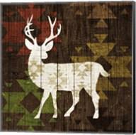Southwest Lodge - Deer I Fine-Art Print