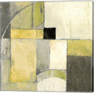 Blues Before Sunrise Yellow and Grey Fine-Art Print