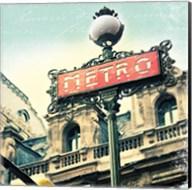 Paris Metro Letter Fine-Art Print