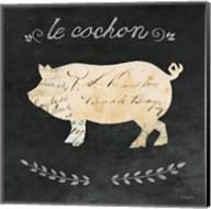 Le Cochon Cameo Sq Fine-Art Print