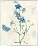 Booked Blue II Crop Fine-Art Print