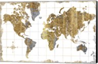 Gilded Map Fine-Art Print