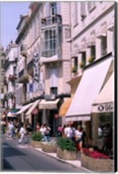 Shopping Scenic, Cannes, France Fine-Art Print