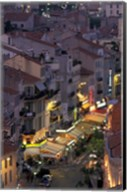Overview of Rue Faure, Cannes, France Fine-Art Print