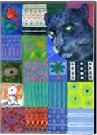 Paradise Panther Fine-Art Print