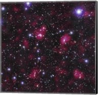 Dark Matter Distribution in Supercluster Abell 901/902 Fine-Art Print