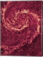 Hubble NICMOS Infrared Image of M51 Fine-Art Print