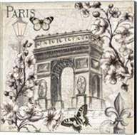 Paris in Bloom II Fine-Art Print