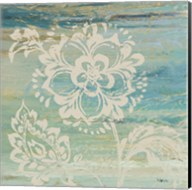 Blue Indigo w/Lace IV Fine-Art Print