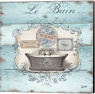 Rustic French Bath II Fine-Art Print