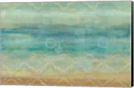 Abstract Waves Blue Fine-Art Print