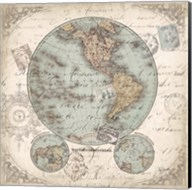 World Hemispheres II Fine-Art Print