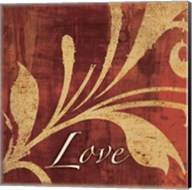 Red Gold Love Fine-Art Print