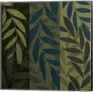 Green Blue 3 Panel Fine-Art Print