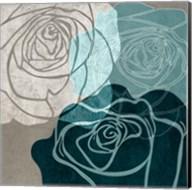 Navy Rose Fine-Art Print