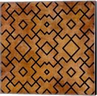 Black on Brown Pattern Fine-Art Print