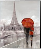 Modern Couple in Paris Fine-Art Print