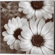 Sepia Blossoms I Fine-Art Print