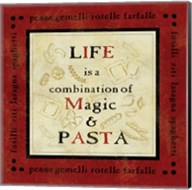 Pasta Sayings I Fine-Art Print