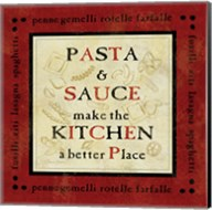 Pasta Sayings II Fine-Art Print