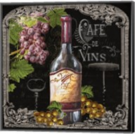 Cafe de Vins Wine I Fine-Art Print
