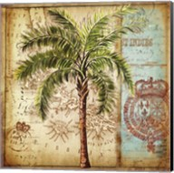 Antique Nautical Palms II Fine-Art Print