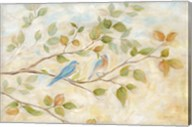 Blue Birds Branch Fine-Art Print