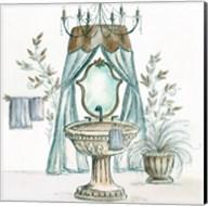 French Bath Sketch II (sink) Fine-Art Print