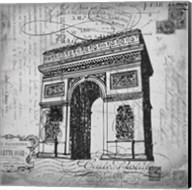Eco Vintage Paris 2 Fine-Art Print
