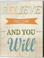 Believe You Can Fine-Art Print