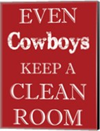 Cowboys Clean Room Fine-Art Print