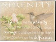 Serenity Hummingbird Fine-Art Print