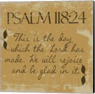 Psalms 118-24 Gold Fine-Art Print