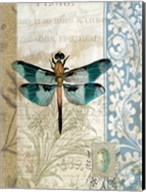 Dragonfly Blue Fine-Art Print