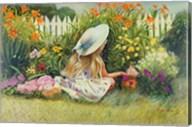 In Mother's Garden Fine-Art Print