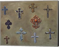 Wall of Crosses Fine-Art Print