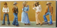 Western Cowgirls Fine-Art Print
