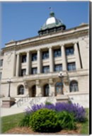 USA, Wisconsin, Manitowoc County Courthouse Fine-Art Print