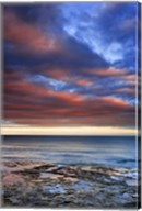 Wisconsin Sunrise on shore of Lake Michigan Fine-Art Print