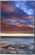 Wisconsin Sunrise on shore of Lake Michigan Fine-Art Print