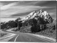 Teton Park Road and Teton Range, Grand Teton National Park, Wyoming Fine-Art Print