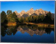 Teton Range and Snake River, Grand Teton National Park, Wyoming Fine-Art Print