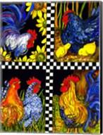 Chicken Quartet Fine-Art Print