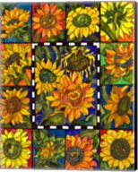 Sunflower Mania Fine-Art Print
