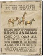 Vintage Circus III Fine-Art Print